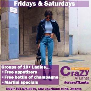 crazy atlanta ladies promo