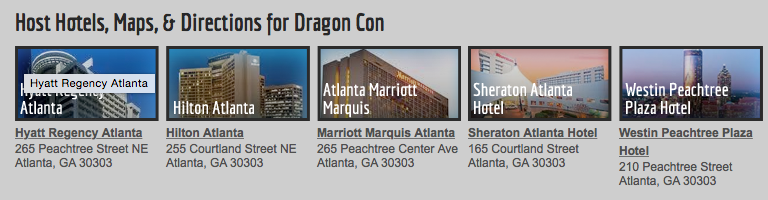 crazy Dragoncon Hotels